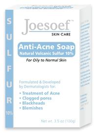 Joesoef Skin Care    Sulfur Soap for Acne Skin   Formulated