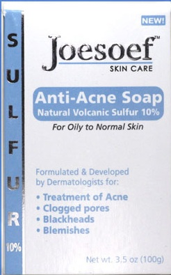 sulfur soap for acne